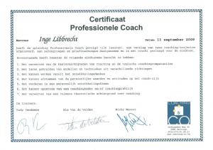 professionele coach